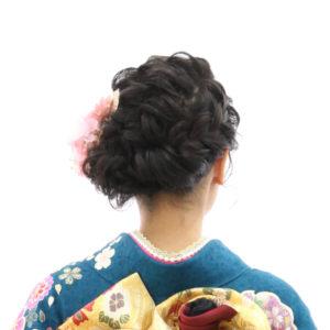 堺市振袖レンタル写真館髪型・髪飾り