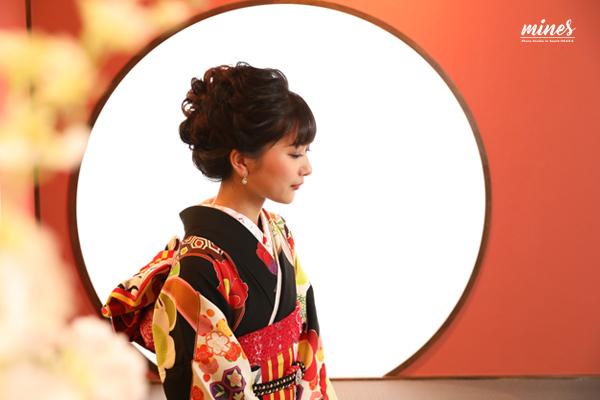 泉佐野市写真で成人式和室カット