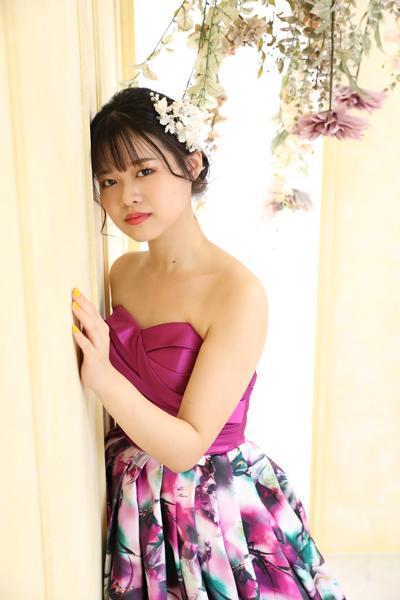成人式ドレス撮影かわいい