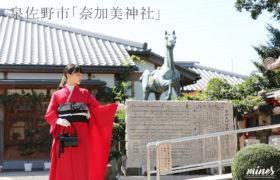 奈加美神社紹介振袖詣り